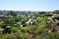 Sikt av Losa Angeles Arkivfoto