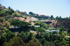 Sikt av Losa Angeles Arkivfoton
