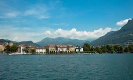Sikt av Lugano Arkivfoton