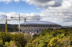 Sikt av Luzhniki stadion royaltyfria bilder