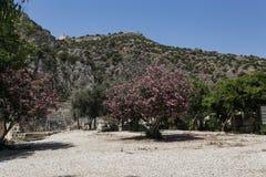 Sikt av Lycian Myra i Turkiet Royaltyfri Fotografi