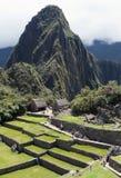 Sikt av Machu Picchu Royaltyfri Fotografi