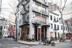 Sikt av Manhattan, västra by, New York City Royaltyfri Fotografi