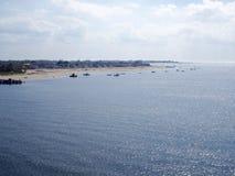 Sikt av Marine Park Royaltyfria Bilder