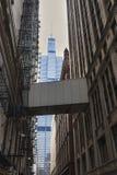 Sikt av mitten Chicago och skyskrapor i i stadens centrum Chicago, Illinois, USA Royaltyfri Foto