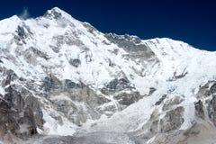 Sikt av Mt Cho Oyu, Gokyo, Solu Khumbu, Nepal Royaltyfri Foto