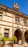 Sikt av Museen de Cluny, ett nationellt museum för gränsmärke royaltyfri foto