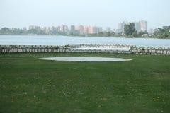 Sikt av Nilen Arkivfoton