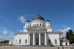Sikt av Nizhny Novgorod Royaltyfri Fotografi