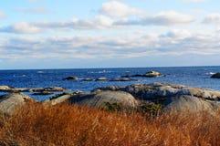 Sikt av Nordsjön Royaltyfri Bild