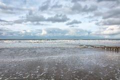 Sikt av Nordsjön Royaltyfria Foton
