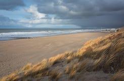 Sikt av Nordsjön arkivbilder