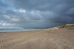 Sikt av Nordsjön Royaltyfria Bilder