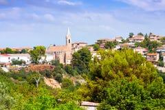 Sikt av Onda. Valencian gemenskap Royaltyfri Fotografi