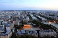 Sikt av Paris Arkivfoto