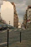 Sikt av Paris gator från den Montmartre kullen Royaltyfria Bilder