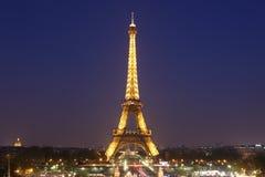 Sikt av Paris och tornet Eiffel på Maj 3, 20 Arkivfoton
