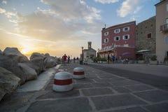 Sikt av Piran, Slovenien, Europa Royaltyfria Bilder