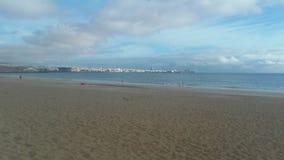 Sikt av Playa Blanca, Fuerteventura, Canarias 6 royaltyfri bild