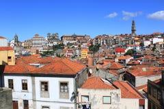 Sikt av Porto Arkivbild