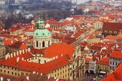 Sikt av Prague Royaltyfri Bild