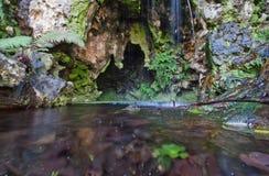 Sikt av Quinta da Regaleira Arkivbilder