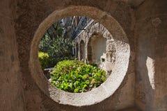 Sikt av Quinta da Regaleira Arkivfoto