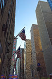 Sikt av radiostadsmusik Hall i NYC Royaltyfria Foton