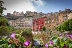 Sikt av Ragusa, Sicilien, Italien Arkivbild