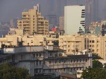 Sikt av södra Mumbai i Indien Royaltyfri Fotografi