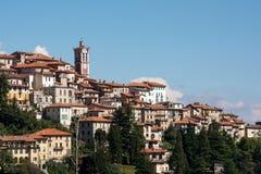 Sikt av Sacro Monte, Varese italy royaltyfri fotografi