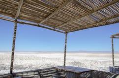 Sikt av Salar de Atacama Royaltyfri Foto
