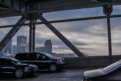 Sikt av San Francisco från fjärdbro 3 Royaltyfri Bild