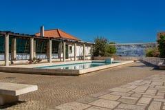 Sikt av Santa Luzia i Lissabon Portugal Royaltyfri Foto
