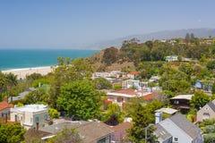 Sikt av Santa Monica Arkivbild