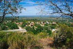 Sikt av Santa Rosa de Calamuchita royaltyfria foton