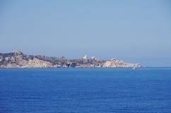 Sikt av Santa Teresa di Gallura, Sardinia Royaltyfria Bilder