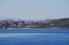 Sikt av Santa Teresa di Gallura, Sardinia Royaltyfria Foton