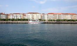 Sikt av Santander Royaltyfri Fotografi