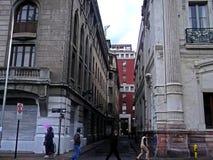 Sikt av Santiago, Chile Arkivbilder