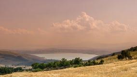 Sikt av Serres, Grekland Royaltyfri Bild
