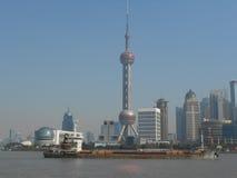 Sikt av Shangai Royaltyfri Bild