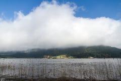 Sikt av sjön Abant Royaltyfria Bilder