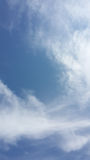 Sikt av skyen Fotografering för Bildbyråer