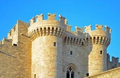 Sikt av slotten för Grandmaster` s Royaltyfri Foto