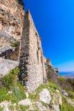 Sikt av slotten för St Hilarion nära Kyrenia 15 Fotografering för Bildbyråer