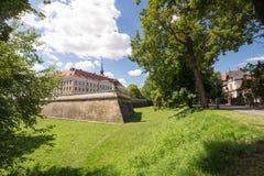 Sikt av slotten i Rzeszow/Polen royaltyfri fotografi