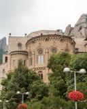 Sikt av Spanien Montserrat Royaltyfria Foton
