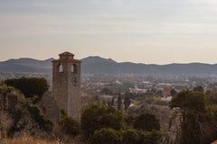 Sikt av stången, Montenegro Royaltyfri Fotografi