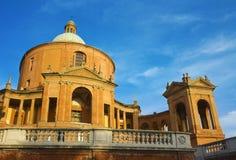 Sikt av St. luca - bologna Royaltyfri Bild